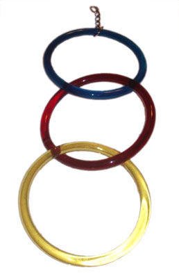 BP 55T TRIPLE HOOP RINGS