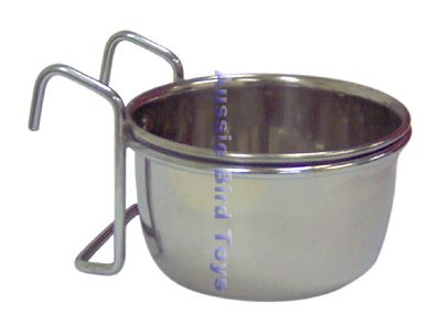 APP2073 20OZ STAINLESS COOP CUP W/ HOOKS