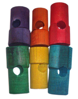 RM CWDD COLORED WOODEN DRILLED DOWELS LGE (36)