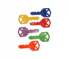 RM PK50 50 ASSORTED COLORED PLASTIC KEYS
