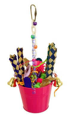 AC 008 BUCKET WITH BELLS