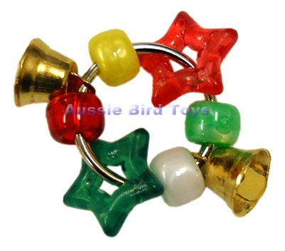 AC 072HS JINGLE BELLS & STAR HANDTOY
