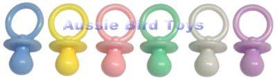 RM PB1O (200) 1 INCH OPAQUE PACIFIERS