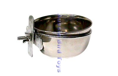 APP2061 5oz STAINLESS STEEL COOP CUP W/CLAMP